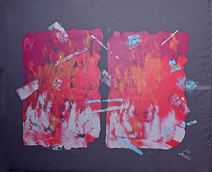 Abstract 2, Paintings, Abstract, Inspirational, Canvas, By Mohsen Modiri