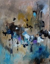 abstract 28352, Paintings, Abstract, Decorative, Canvas, By Pol Ledent