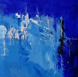 abstract 411102, Paintings, Abstract, Decorative, Canvas, By Pol Ledent