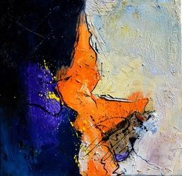 abstract 4451507, Paintings, Abstract, Decorative, Canvas, By Pol Ledent