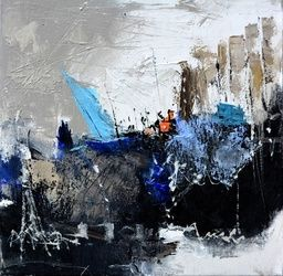 abstract 4451703, Paintings, Abstract, Decorative, Canvas, By Pol Ledent
