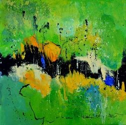 abstract 4461701, Paintings, Abstract, Decorative, Canvas, By Pol Ledent