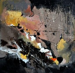 abstract 51801, Paintings, Abstract, Decorative, Canvas, By Pol Ledent