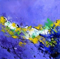 abstract 5531103, Paintings, Expressionism, Decorative, Canvas, By Pol Ledent