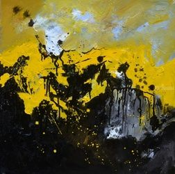 abstract 556190, Paintings, Abstract, Decorative, Canvas, By Pol Ledent