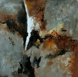 abstract 61302, Paintings, Abstract, Decorative, Canvas, By Pol Ledent