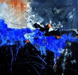 abstract 613042, Paintings, Expressionism, Decorative, Canvas, By Pol Ledent