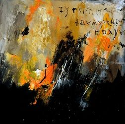 abstract 665130, Paintings, Abstract, Decorative, Canvas, By Pol Ledent