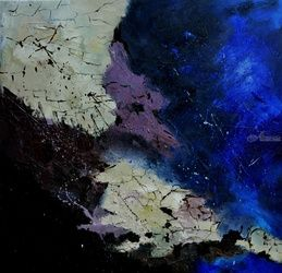 abstract 77510102, Paintings, Abstract, Decorative, Canvas, By Pol Ledent
