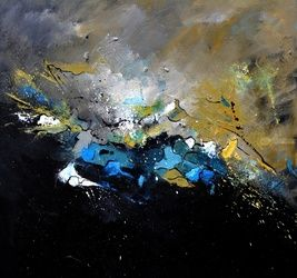 abstract 77510170, Paintings, Abstract, Decorative, Canvas, By Pol Ledent