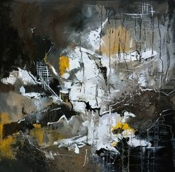 abstract 7751203, Paintings, Abstract, Decorative, Canvas, By Pol Ledent