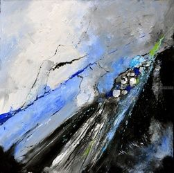abstract 7751204, Paintings, Expressionism, Decorative, Canvas, By Pol Ledent