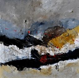 Abstract 8831011, Paintings, Abstract, Decorative, Canvas, By Pol Ledent