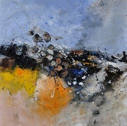 abstract 88411132, Paintings, Abstract, Decorative, Canvas, By Pol Ledent