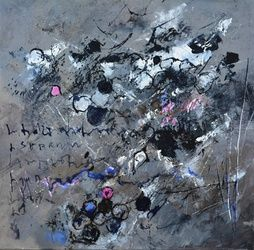 abstract 886111, Paintings, Abstract, Decorative, Canvas, By Pol Ledent