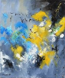 abstract 90 70, Paintings, Abstract, Decorative, Canvas, By Pol Ledent