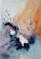 abstract watercolor 4541901, Paintings, Abstract, Decorative, Watercolor, By Pol Ledent