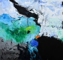 abstrat 8871701, Paintings, Abstract, Decorative, Canvas, By Pol Ledent