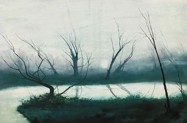 Aftermath, Paintings, Impressionism, Landscape, Oil, By Stephen Keller