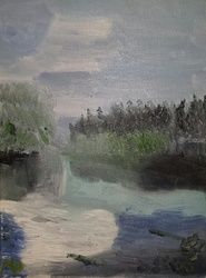 Alaska, Paintings, Impressionism, Landscape, Oil, By MD Meiser