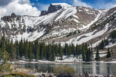 Alpine Lake, Photography, Photorealism, Landscape, Photography: Premium Print, By Mike DeCesare