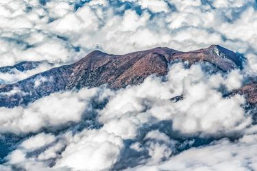 Andes Mountains Aerial View,<br>Chile, Photography, Photorealism, Documentary, Photography: Photographic Print, By Daniel Ferreira Leites