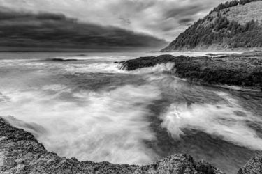 Approaching Storm, Photography, Photorealism, Seascape, Photography: Premium Print, By Mike DeCesare