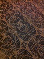 Art Deco, Carvings, Commercial Design, Decorative, Fiber, By Melanie Brummer