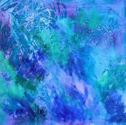 Atmospheric Disturbance, Paintings, Abstract,Modernism, Composition,Conceptual,Landscape, Acrylic, By Denise Dundon