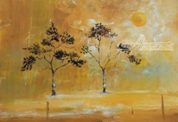 Autumn, Paintings, Impressionism, Landscape, Oil, By Alicia Maury