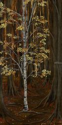 Autumn Fades, Paintings, Fine Art, Landscape, Acrylic, By Kelsey VandenHoek