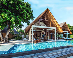 Beach Pool Villa / Maldives