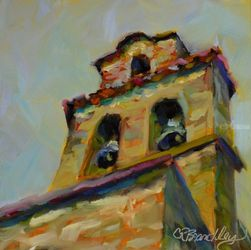 Bell Bottom Blues, Illustration, Impressionism, Architecture, Oil, By Chris Brandley