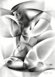 Bettie Page - 28-08-17, Drawings / Sketch, Abstract,Cubism,Fine Art,Impressionism,Realism,Surrealism, Anatomy,Animals,Erotic,Figurative,Inspirational,Nudes,People, Pencil, By Corne Akkers