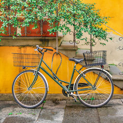 Bicycle Parked at Wall, Lucca,<br>Italy, Photography, Realism, Figurative, Photography: Photographic Print, By Daniel Ferreira Leites