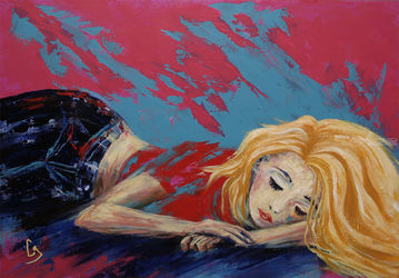 Bliss, Paintings, Pop Art, People, Acrylic, By Craig Granato