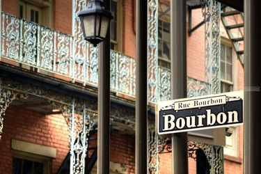 Bourbon Street, Photography, Fine Art, Architecture,Daily Life,Historical, Digital, By Timothy Lowry
