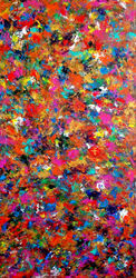CARNIVAL, Paintings, Abstract,Expressionism,Fine Art,Modernism, Decorative,Fantasy,Inspirational, Acrylic, By Tanya Hansen