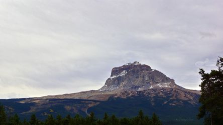Chief Mountain, Northside, Photography,Poster, Fine Art,Photorealism,Realism, Environmental art,Landscape,Nature, Photography: Metal Print,Photography: Photographic Print,Photography: Premium Print,Photography: Stretched Canvas Print, By Tracey Vivar