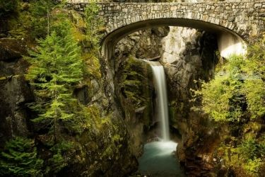 Christine Falls, Photography, Photorealism, Landscape, Photography: Premium Print, By Mike DeCesare