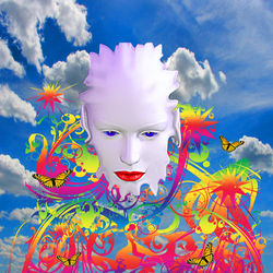Cloud Dreamer, Digital Art / Computer Art, Commercial Design,Modernism,Surrealism, Avant-Garde,Fantasy,Portrait, Digital, By Matthew Lacey
