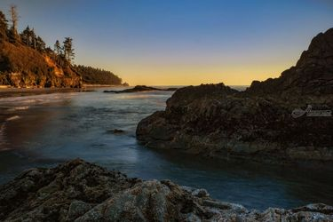 Coastal Sunset, Photography, Photorealism, Landscape,Seascape, Photography: Premium Print, By Mike DeCesare