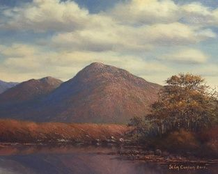 Connemara Landscape, Paintings, Fine Art, Landscape, Oil, By Sean Conlon