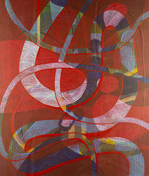 Corona Discharge, Paintings, Abstract,Fine Art, Avant-Garde,Conceptual,Spiritual, Acrylic, By Matt Dominger