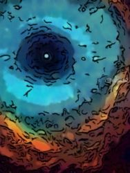Cosmic contacts, Digital Art / Computer Art,Drawings / Sketch, Opticality,Performance Art,Realism, Daily Life,Window on the World, Ink,Mixed,Oil,Painting, By Shazzy and Johns  Art Emporium