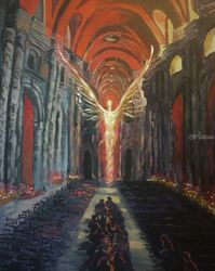 Dark Souls(acrylic on canvas), Paintings, Fine Art, Composition, Acrylic, By Victoria Trok
