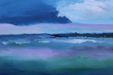 Dream, Paintings, Abstract, Seascape, Oil, By Alicia Maury