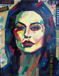 DunaWay, Paintings, Pop Art,Street Art, Figurative, Canvas,Oil,Spray Paint, By Piotr Kachny
