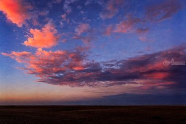 Farmland Sunset, Photography, Photorealism, Landscape, Photography: Photographic Print, By Mike DeCesare