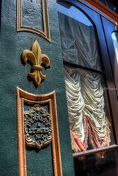 Fleur-de-lis, Photography, Street Art, Architecture,Cityscape,Decorative,Historical, Digital, By Timothy Lowry